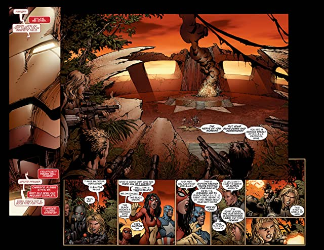 click for super-sized previews of New Avengers (2004-2010) #6