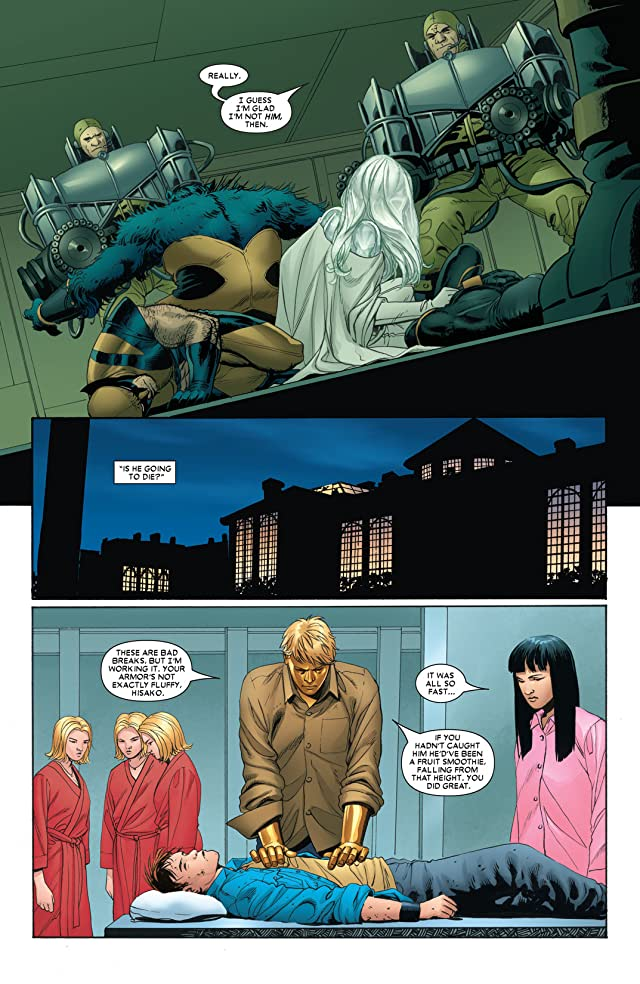 click for super-sized previews of Astonishing X-Men (2004-2013) #5