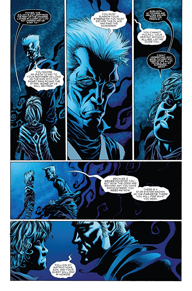 click for super-sized previews of Annihilation: Conquest - Wraith #3