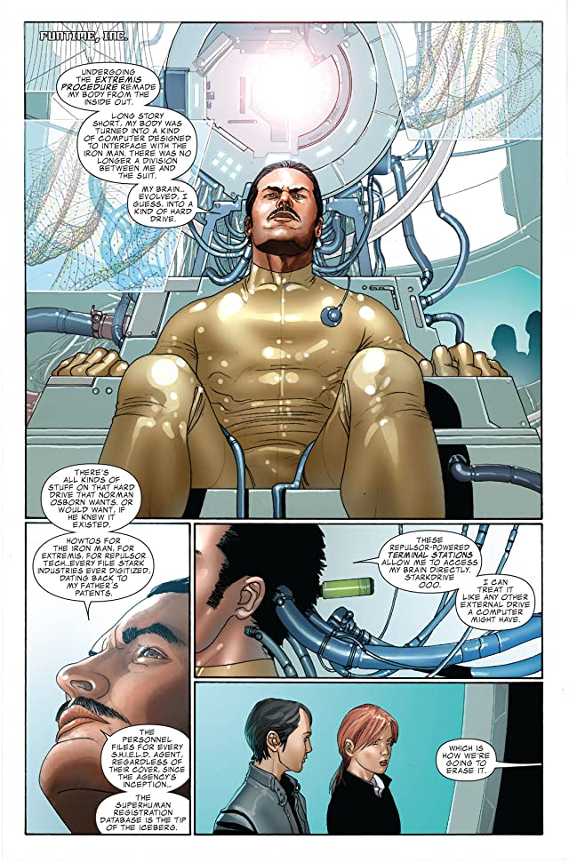 click for super-sized previews of Invincible Iron Man (2008-2012) #9