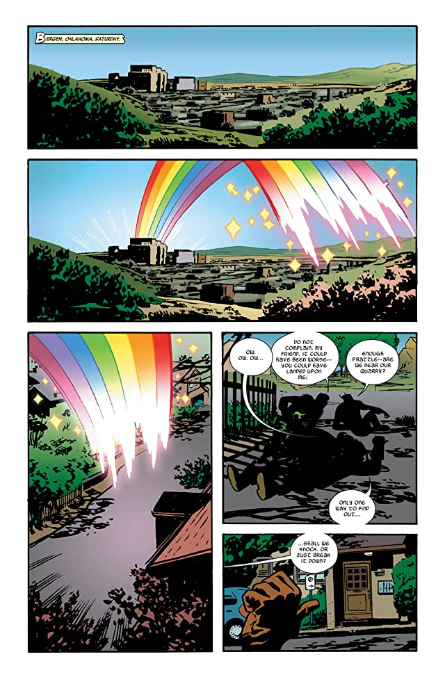 click for super-sized previews of Thor: The Mighty Avenger #4