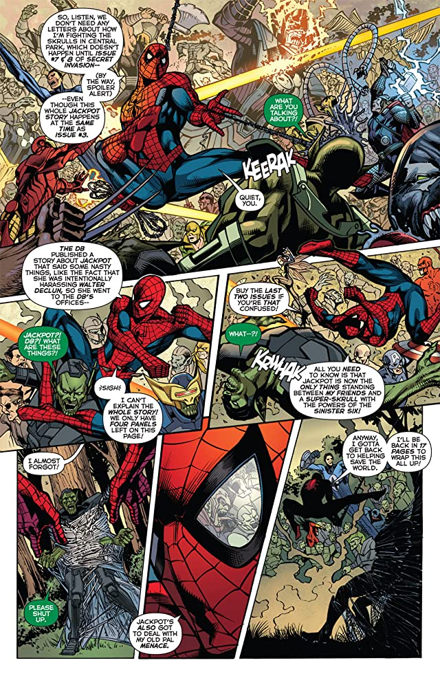 click for super-sized previews of Secret Invasion: The Amazing Spider-Man #3