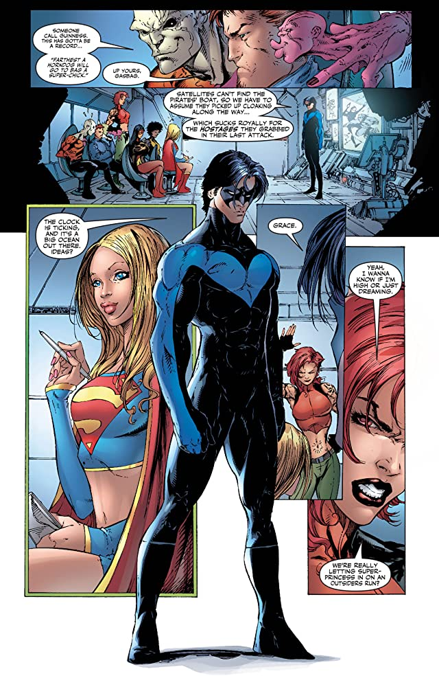 click for super-sized previews of Supergirl (2005-2011) #11