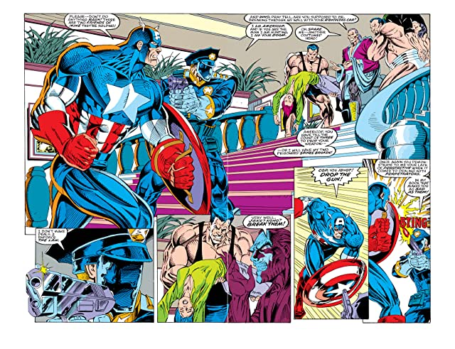 click for super-sized previews of Captain America (1968-1996) #430