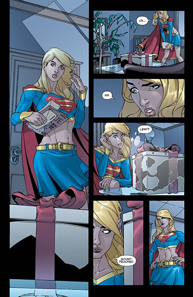 click for super-sized previews of Supergirl (2005-2011) #23