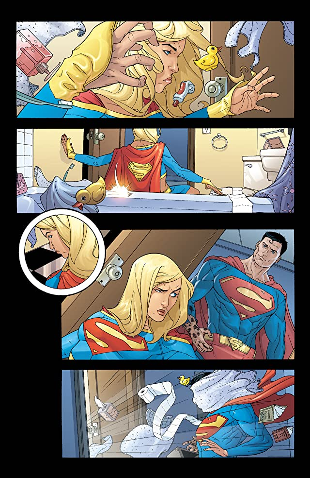 click for super-sized previews of Supergirl (2005-2011) #24