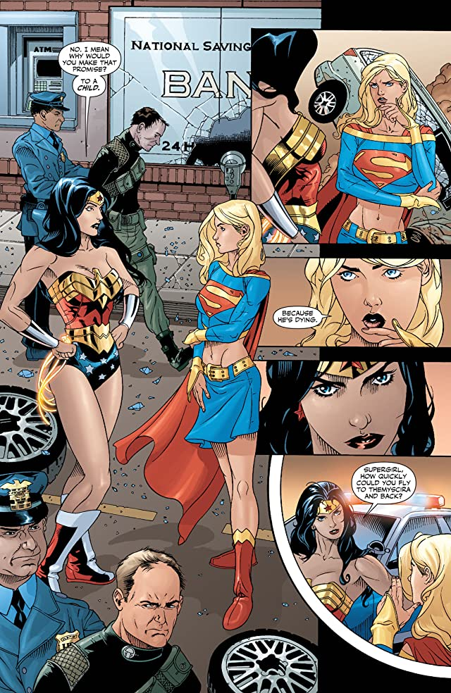 click for super-sized previews of Supergirl (2005-2011) #28