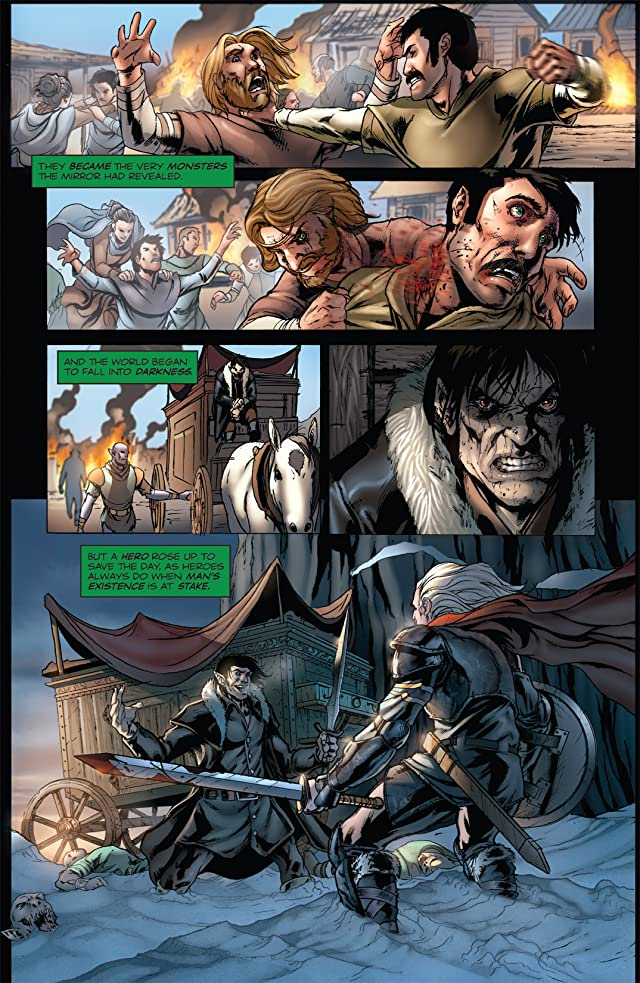 click for super-sized previews of Grimm Fairy Tales #22