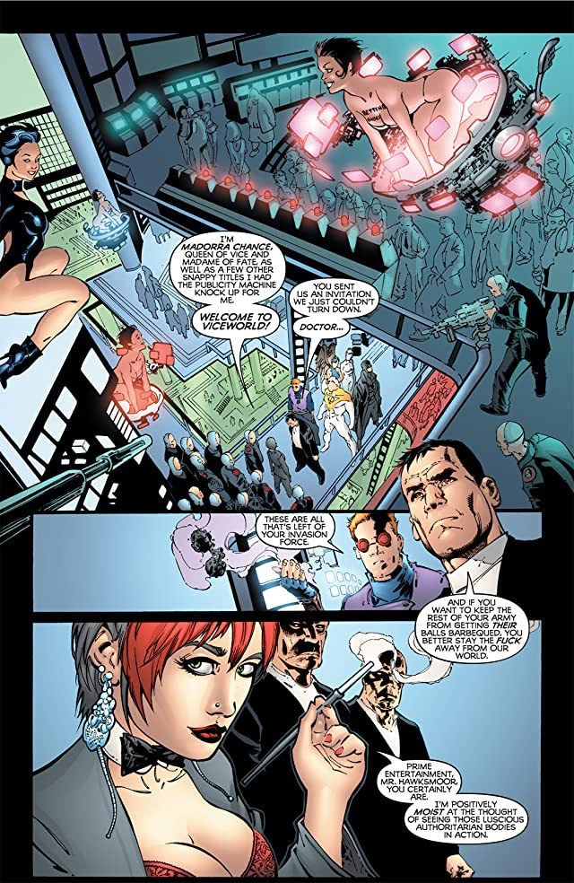 click for super-sized previews of The Authority Vol. 2 #0