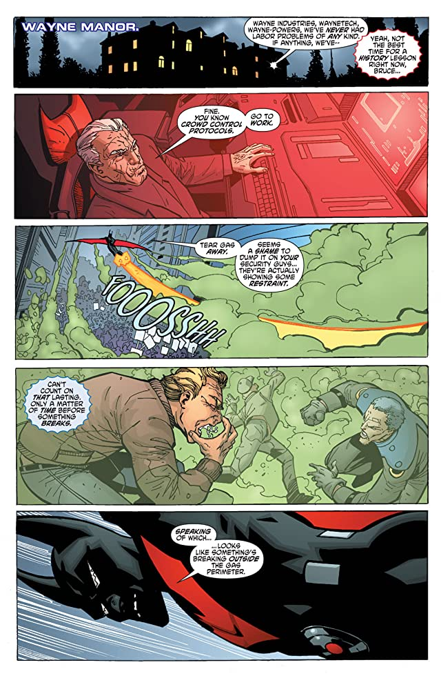 click for super-sized previews of Batman Beyond (2011) #5