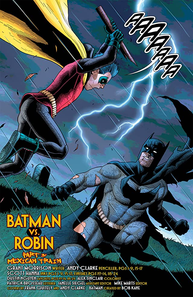 click for super-sized previews of Batman and Robin (2009-2011) #12