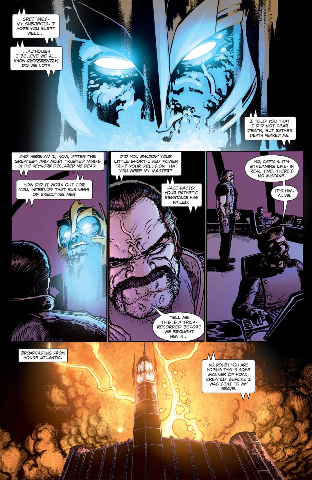 The Amory Wars: In Keeping Secrets of Silent Earth 3 #9 (of 12)
