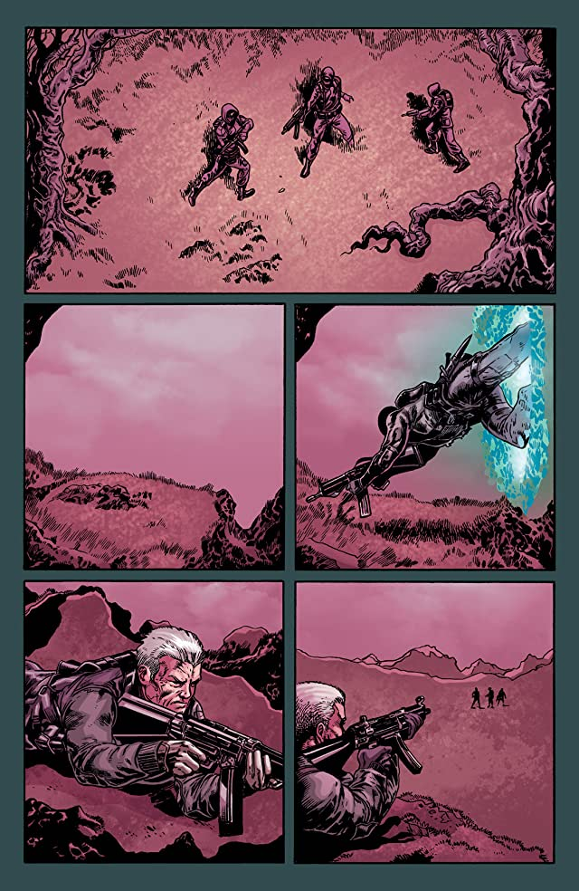click for super-sized previews of Gravel Combat Magician #4