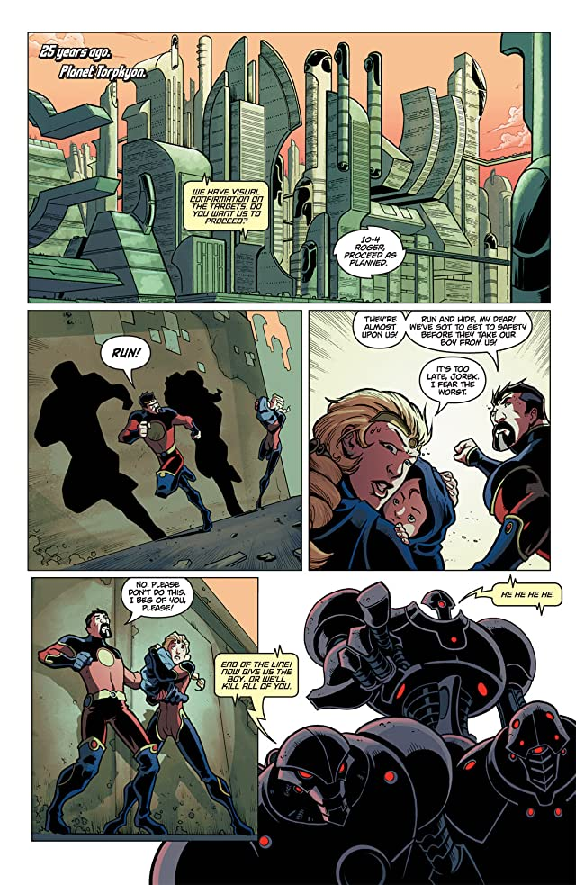 click for super-sized previews of Kill All Parents #1