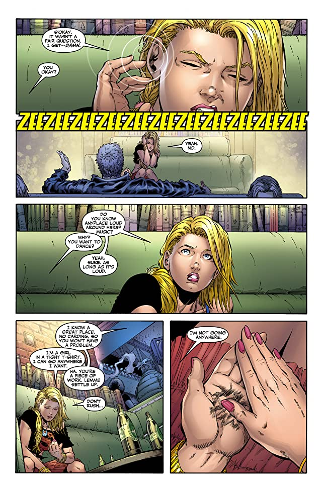 click for super-sized previews of Supergirl (2005-2011) #9