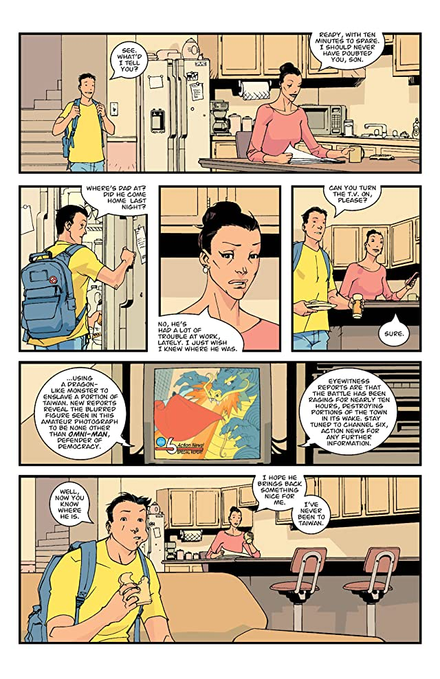 click for super-sized previews of Invincible #1
