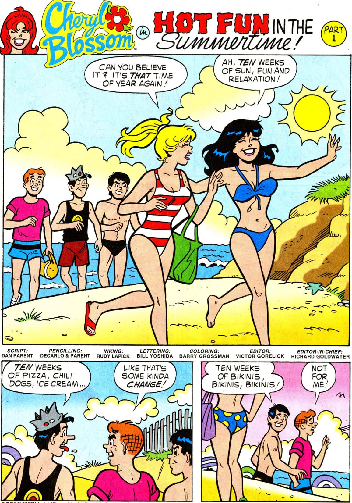 Cheryl Blossom: Summertime Fun #1 (of 3)