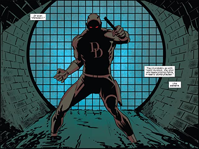 click for super-sized previews of Daredevil: Road Warrior Infinite Comic #1