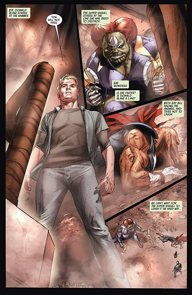 click for super-sized previews of Secret Invasion: Thor #3