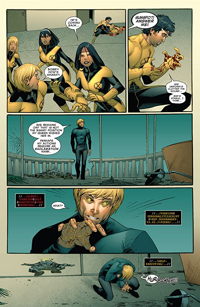 click for super-sized previews of New Mutants (2009-2011) #7