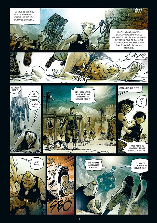 click for super-sized previews of Freaks' Squeele : Funérailles Vol. 2: Pain in Black