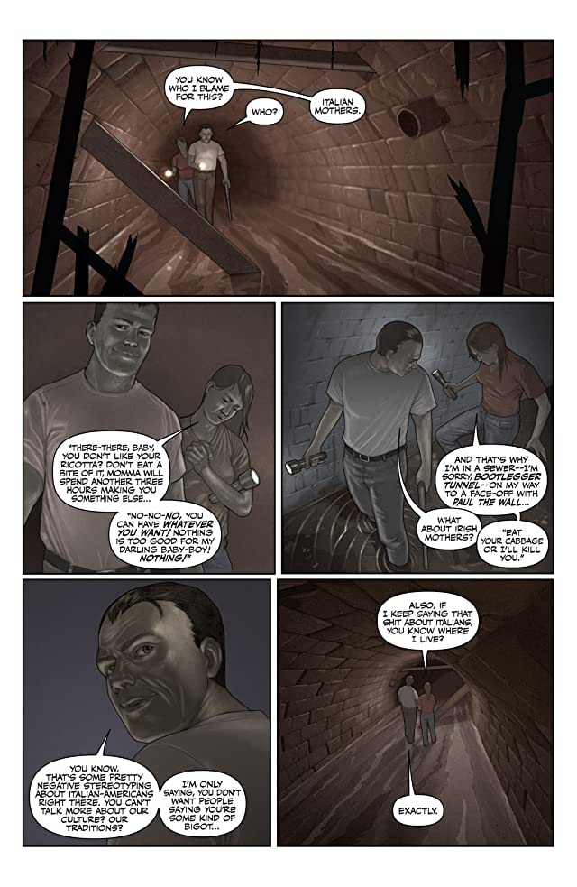 click for super-sized previews of Back To Brooklyn #5