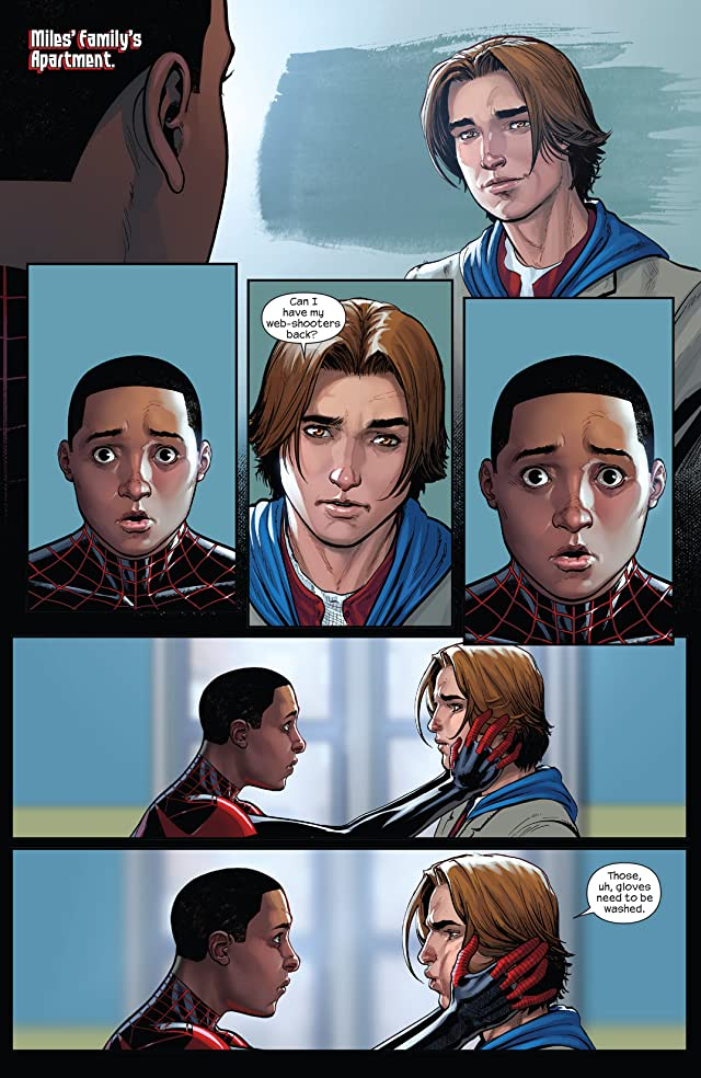 click for super-sized previews of Miles Morales: Ultimate Spider-Man (2014-2015) #2