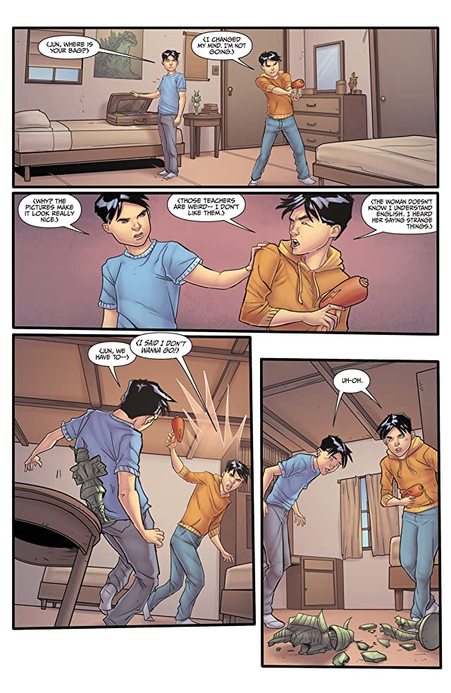 click for super-sized previews of Morning Glories #9