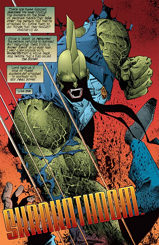 click for super-sized previews of Savage Dragon #15