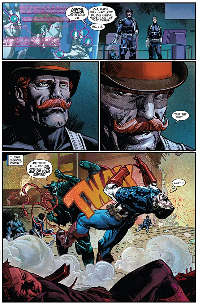 click for super-sized previews of Captain America (2012-) #21