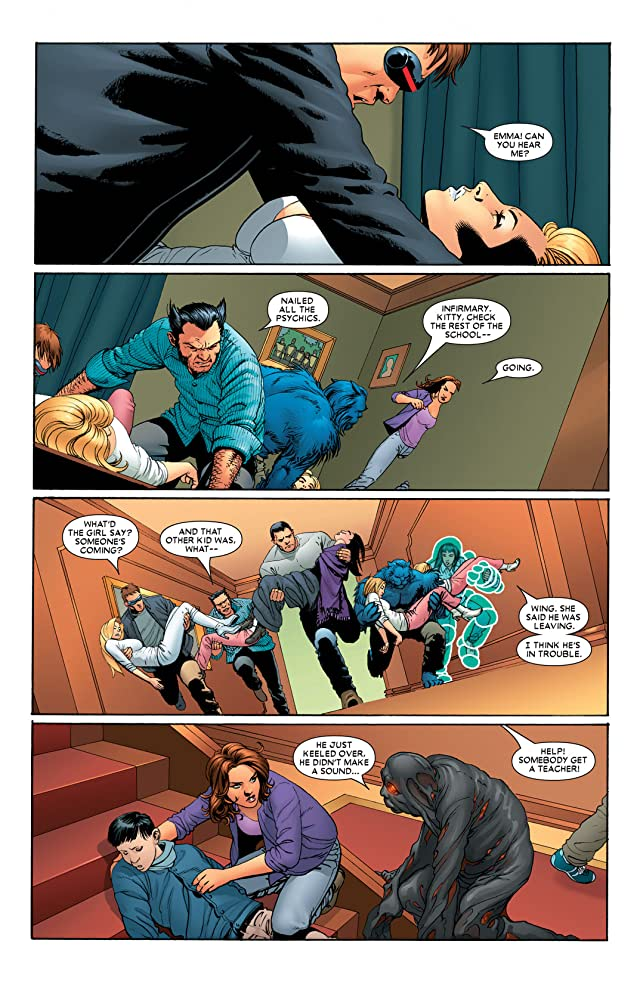click for super-sized previews of Astonishing X-Men (2004-2013) #8