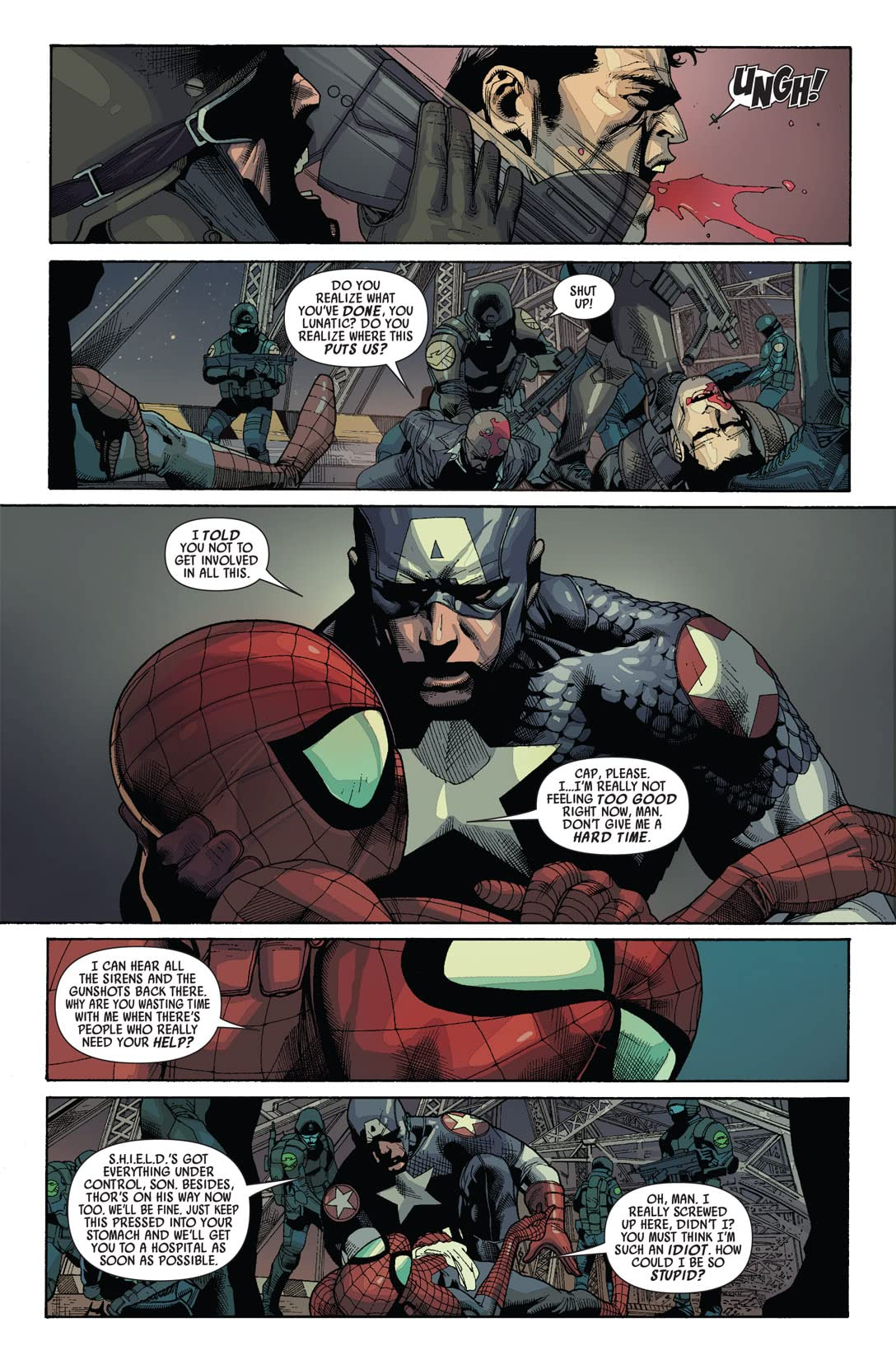 Ultimate Comics Avengers vs. New Ultimates #4 (of 6)