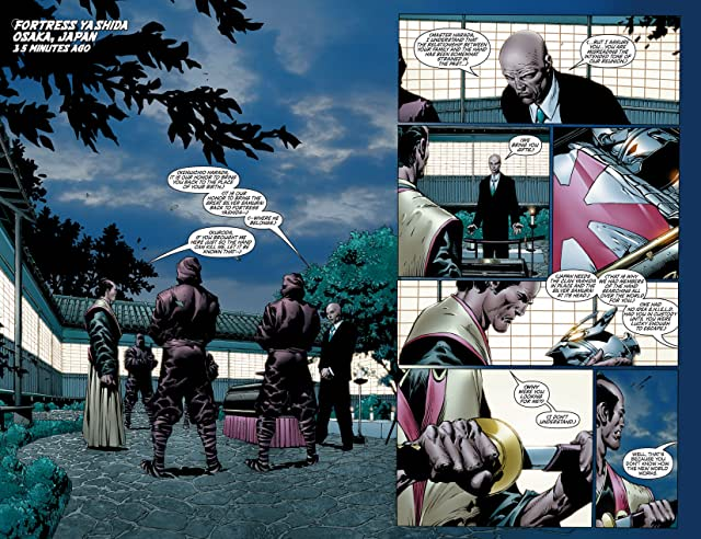 click for super-sized previews of New Avengers (2004-2010) #12