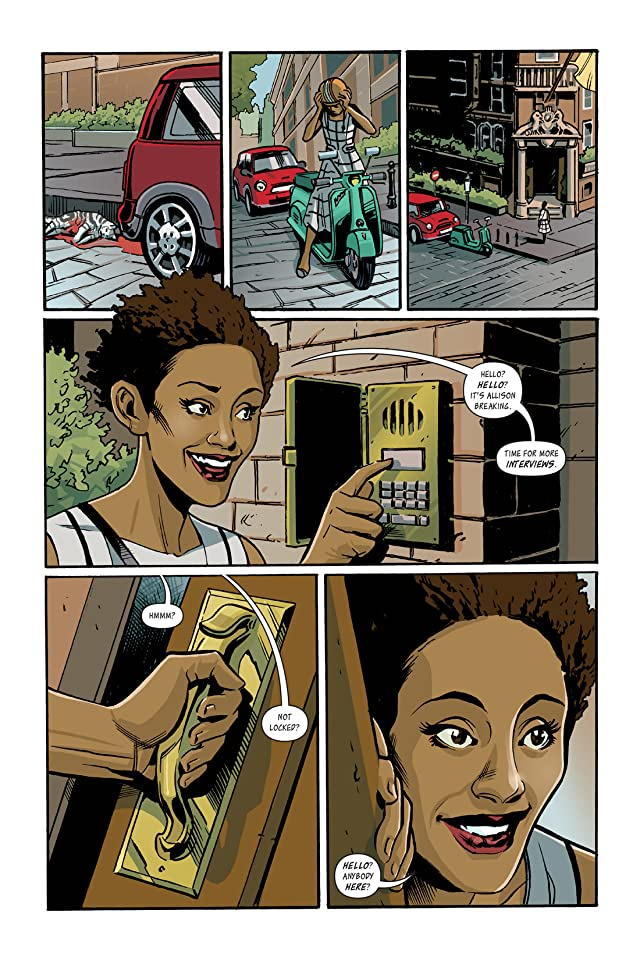 click for super-sized previews of I Was the Cat #2