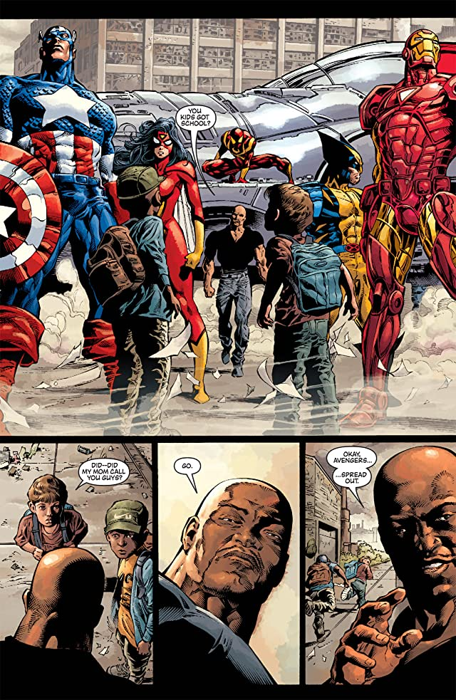 click for super-sized previews of New Avengers (2004-2010) #17