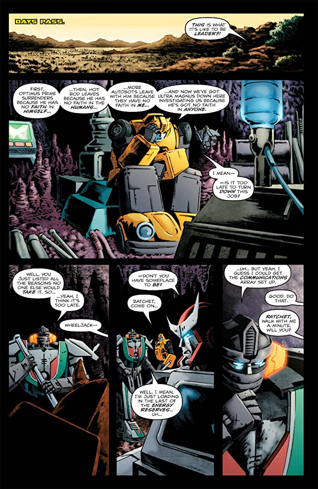 click for super-sized previews of Transformers: Bumblebee #1