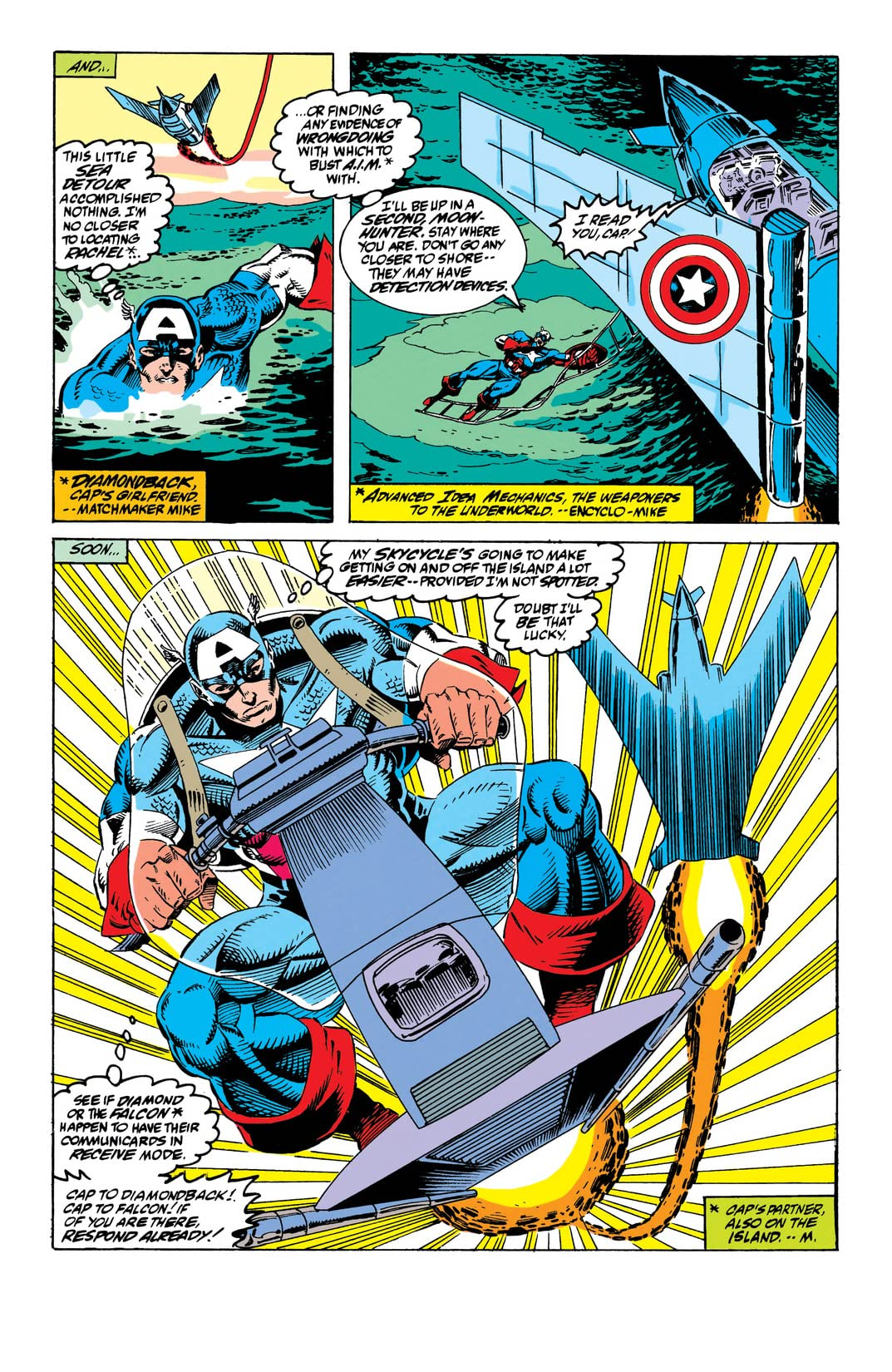 Captain America (1968-1996) #414