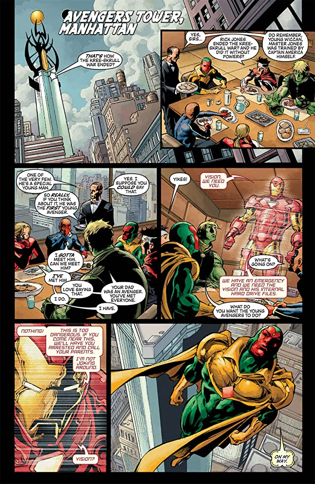 click for super-sized previews of New Avengers (2004-2010) #18