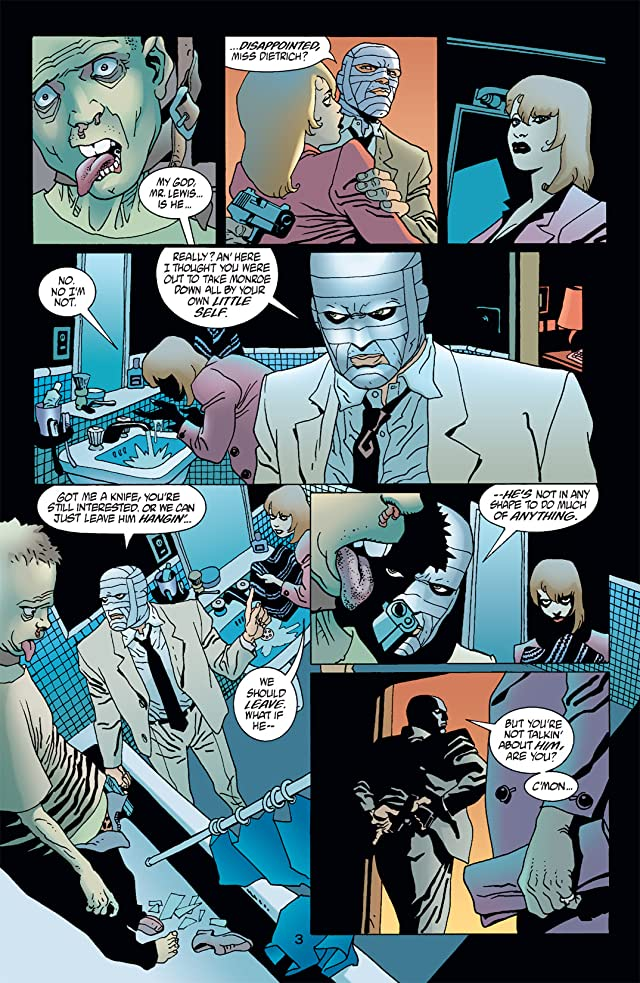 click for super-sized previews of 100 Bullets #34
