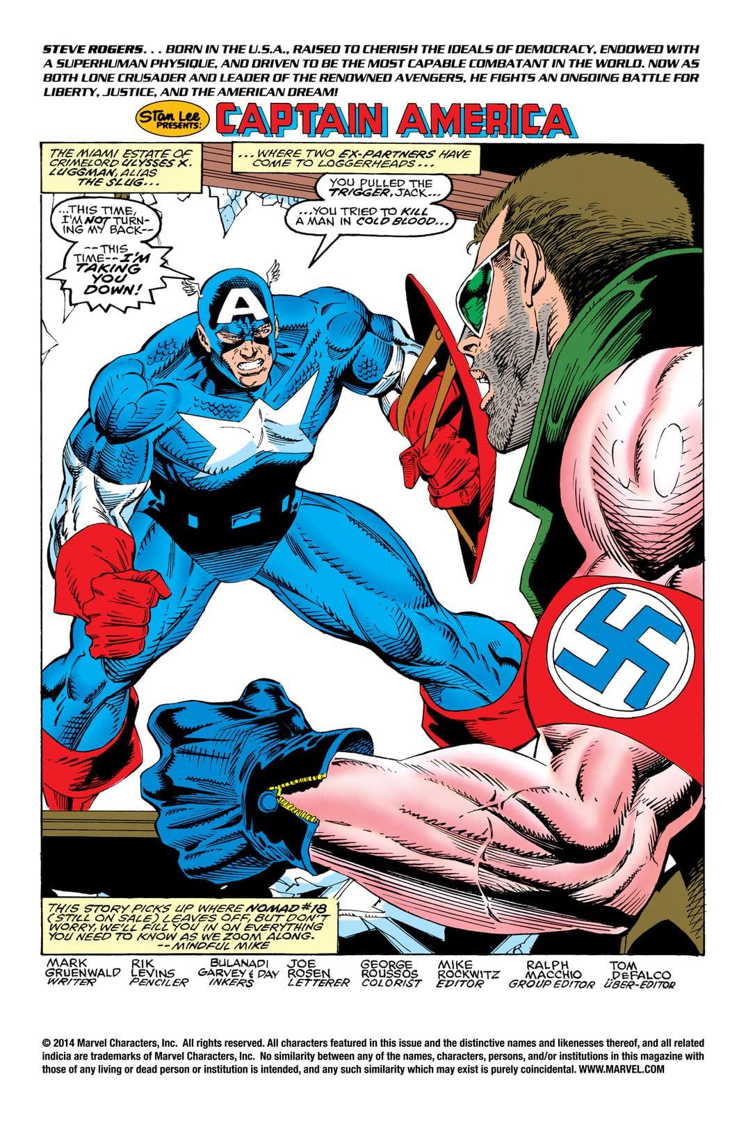 Captain America (1968-1996) #421