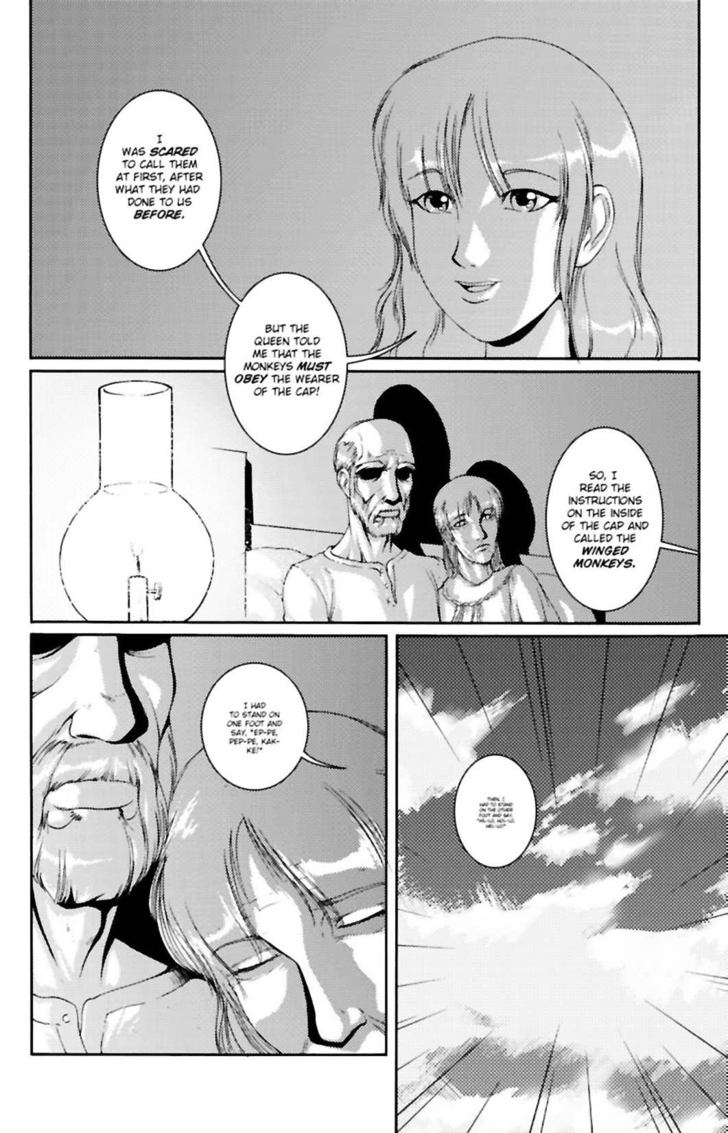 Oz: The Manga Epilogue