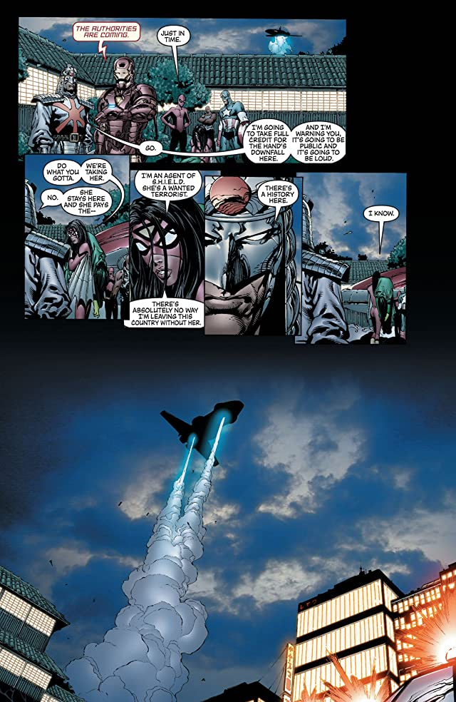 click for super-sized previews of New Avengers (2004-2010) #13