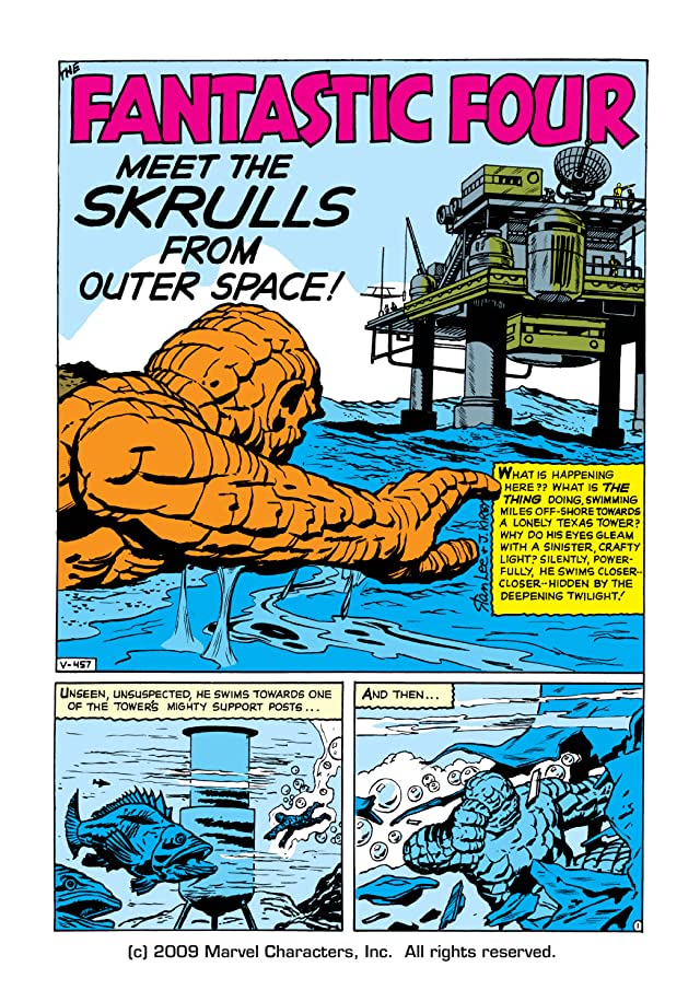 click for super-sized previews of Fantastic Four (1961-1998) #2