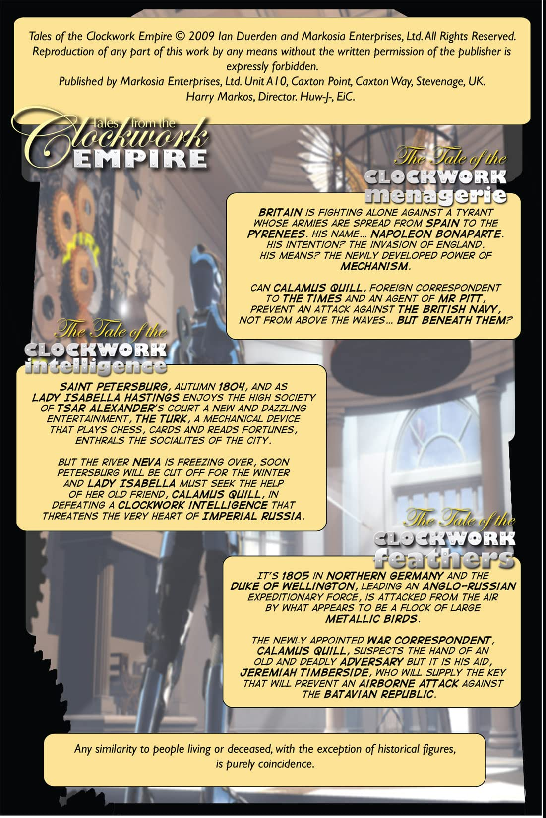 Tales from the Clockwork Empire #1: Preview
