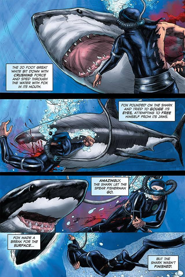 click for super-sized previews of FCBD 2011 Deadliest Sharks & Prehistoric Predators