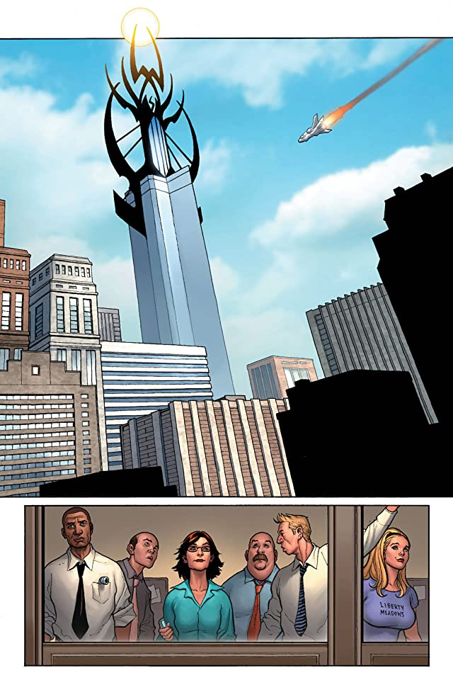 click for super-sized previews of New Avengers (2004-2010) #14
