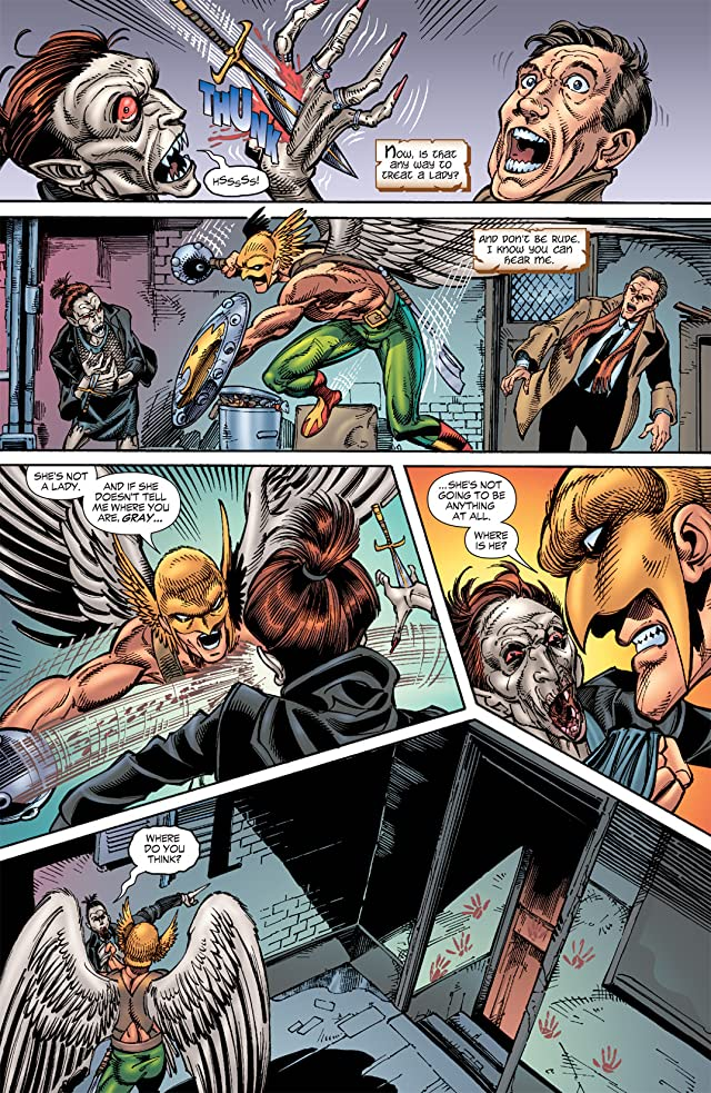 click for super-sized previews of Hawkman (2002-2006) #26