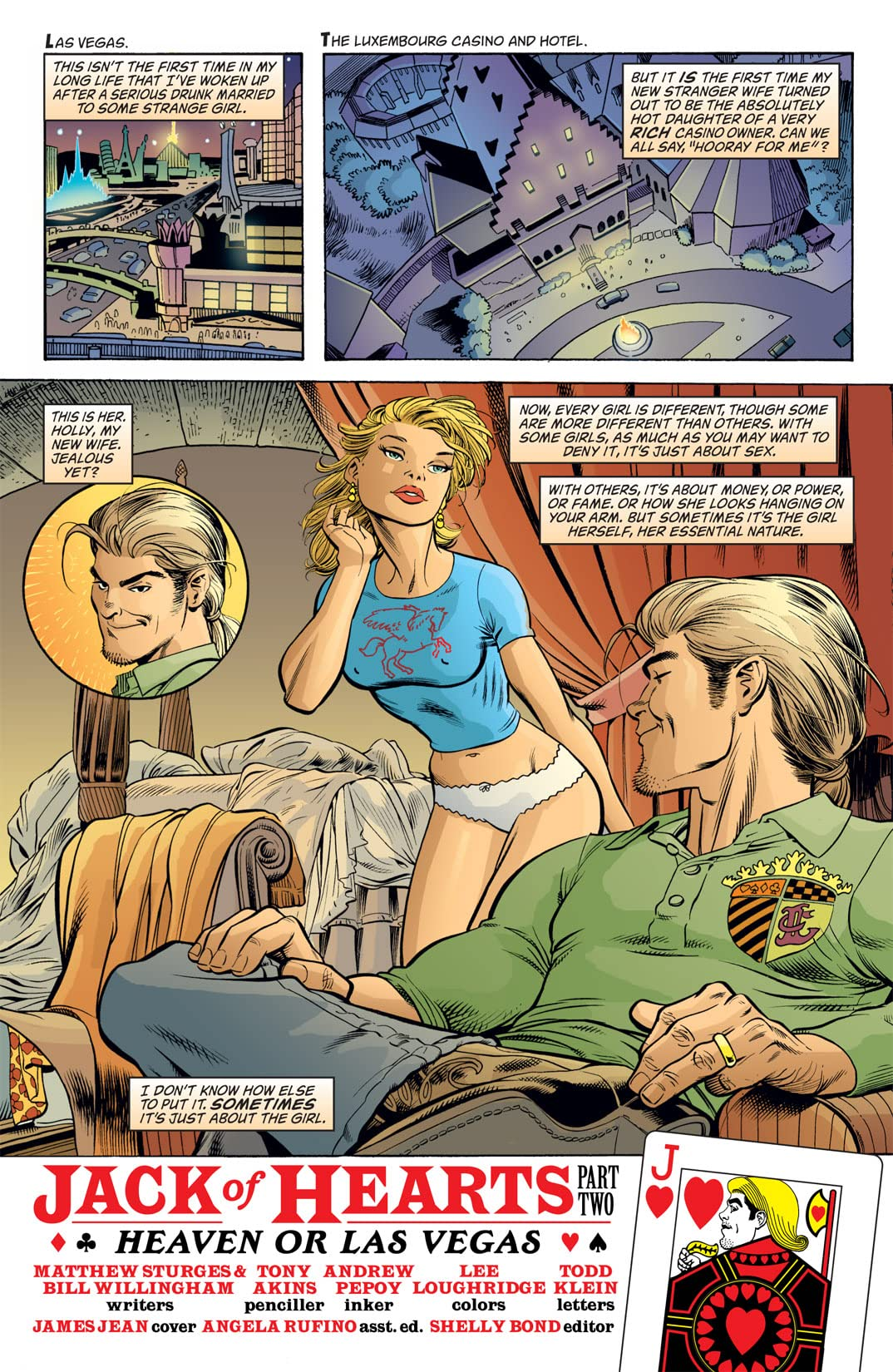 Jack of Fables #8