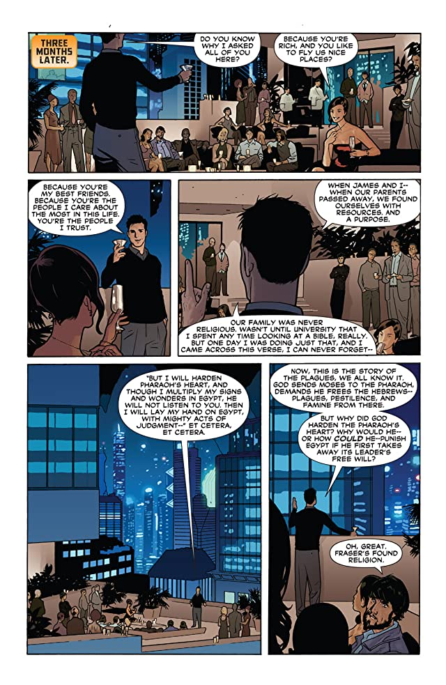click for super-sized previews of THUNDER Agents #5