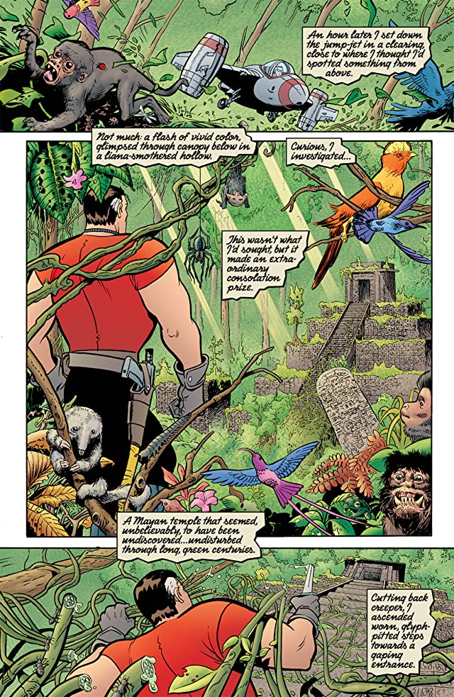 click for super-sized previews of Tom Strong #9